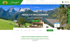 Hotel Webagentur Berghof Sturmgut