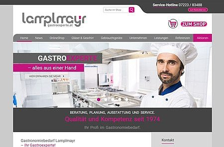 Webprogrammierung Gastroexperte