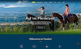 Webprogrammierung und Webdesign Pferdland