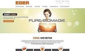 Webdesign und Programmierung Ziegelwerk Eder