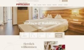 Internetagentur für Hotel Poppengut in Hinterstoder